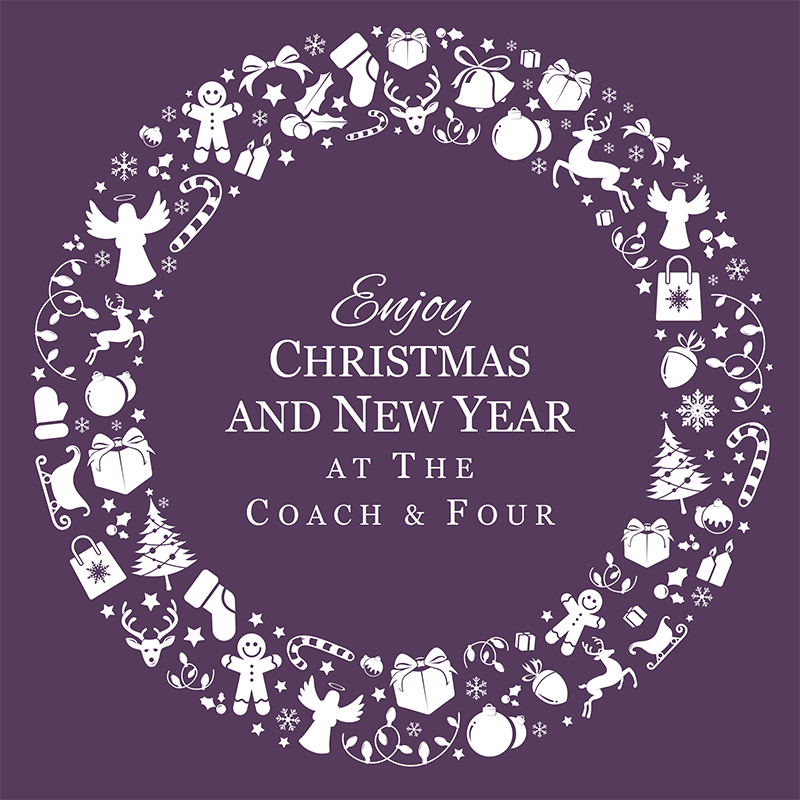 best christmas party venue in wilmslow at the coach and four
