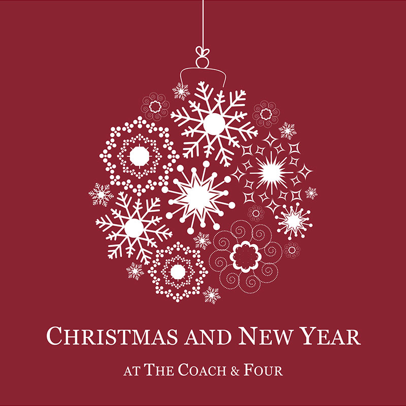 Christmas Party at the Coach & Four in Wilmslow